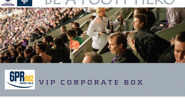 Article image for Win the 6PR Corporate Box for Freo vs Carlton!
