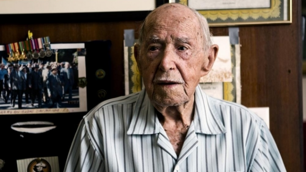 Article image for Callous thieves rob 95 yr old's war medals