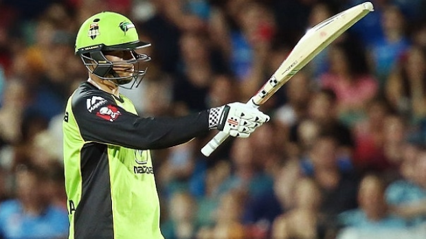 Article image for Usman Khawaja leads Sydney Thunder into Big Bash League Grand Final