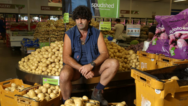 Article image for Spud king confirms he'll run for parliament