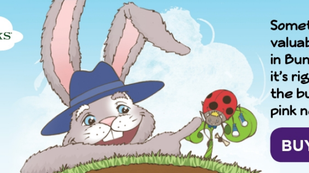 Article image for Book: Barnaby and the Lost Treasure of Bunnyville