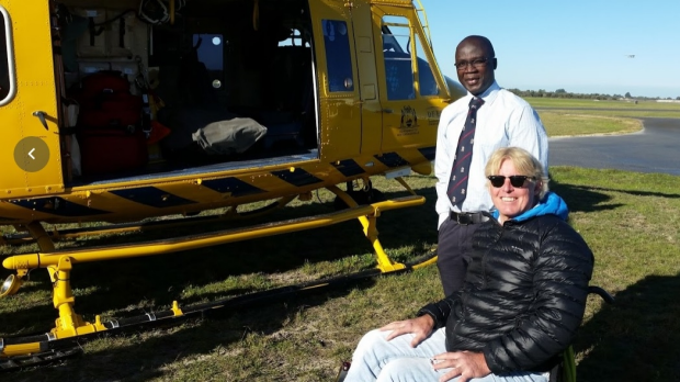 Article image for Perth Doctor Performs Roadside Surgery