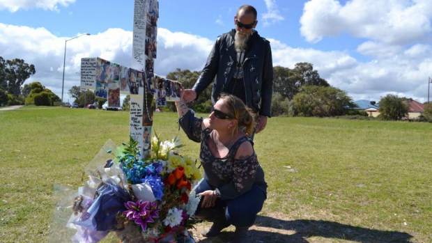 Article image for Family told to remove roadside cross