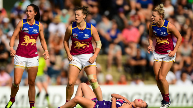 Article image for Training for injuries in the AFLW