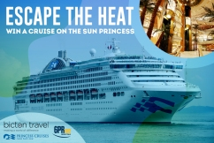 Escape the heat with a 4 night cruise!
