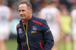 Adelaide Crows CEO on Pyke stepping down as coach