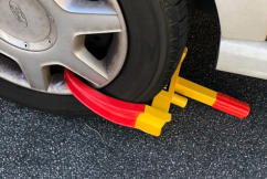 One step closer to banning wheel clampers