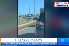 'We were frightened for the police': Hillarys mob witness