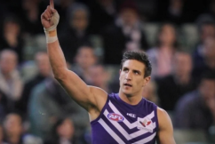 What former and current AFL players received good grades at school, according to Paul Hasleby