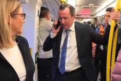 McGowan urges public to get back on the train