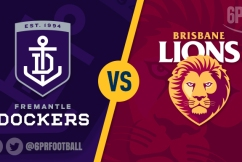 Fremantle fight on, but lose to Lions