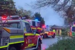 Hero saves neighbour from burning home