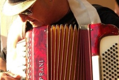 Friday House Band Mr Frank 'The Accordion Man' Miranda!
