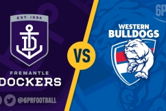 Western Bulldogs bustle their way into the eight.