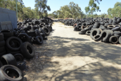Perth residents warned about tyre dumping scam