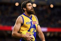 Josh Kennedy with the latest on his ankle injury ahead of the Western Derby