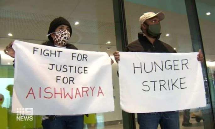 Article image for Aishwarya Aswath's parents emotional 'fight for answers'