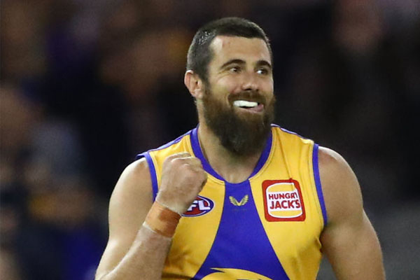 Article image for 'I am keen to play': Crunch time for Josh Kennedy's Eagles contract