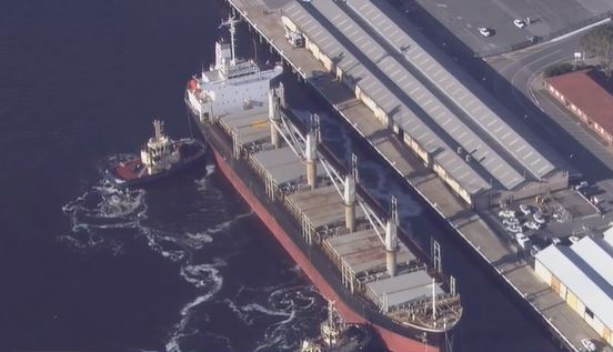 Article image for 20 crew on ship docked in Fremantle test positive to COVID-19